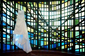 Our Lady of the Lakes wedding dress