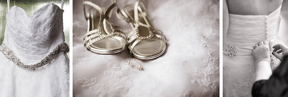 The dress, the shoes, getting dressed