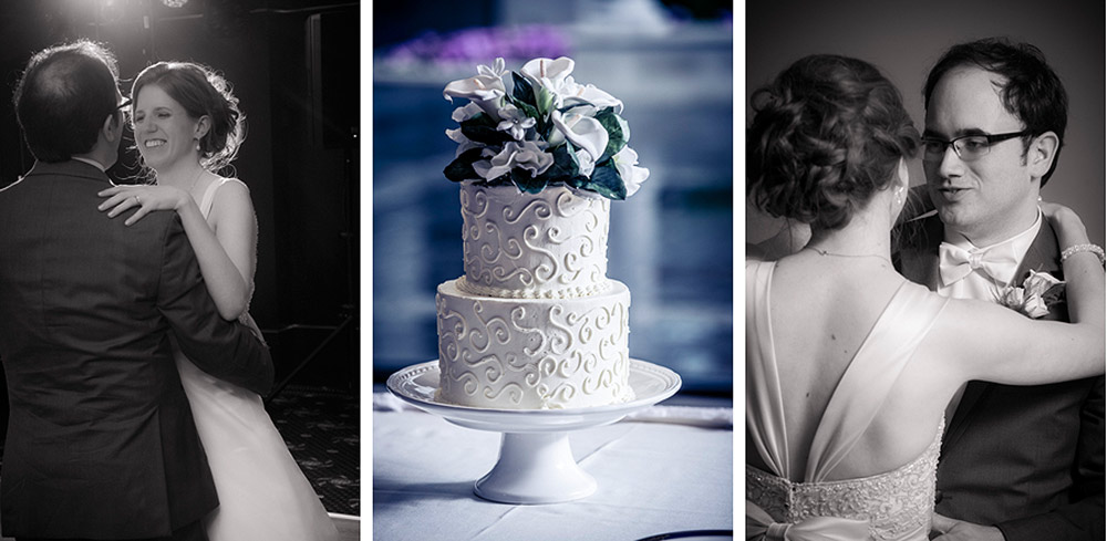 First dance and wedding cake