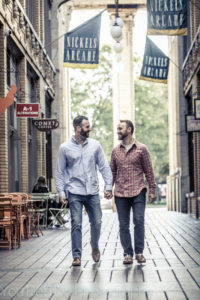 Engaged same-sex couple in Ann Arbor MI